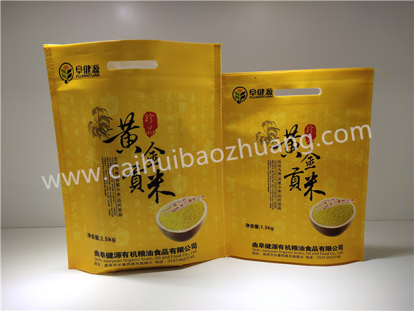 Caihui Packaging  Food-grade non woven pp bags   Millet non woven bags